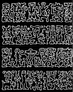 asemic writing Michael Jacobson